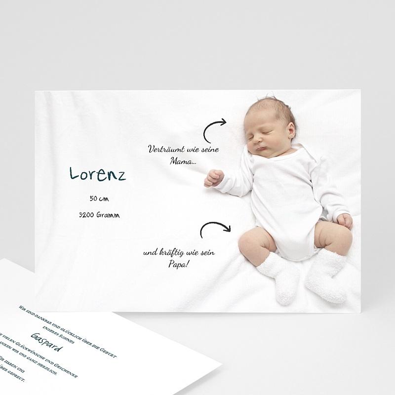 Geburtskarten selbst gestalten  Liebespfeile