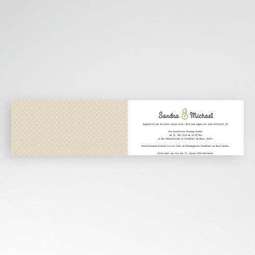 Hochzeitseinladungen modern - Gondel 23084 preview