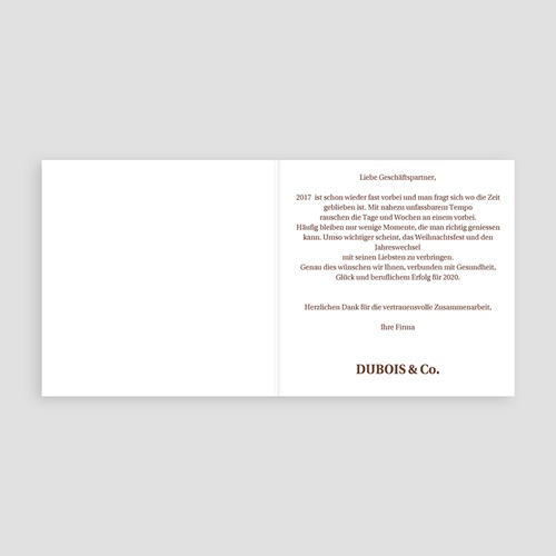 Weihnachtskarten - Kreisförmig 23102 test