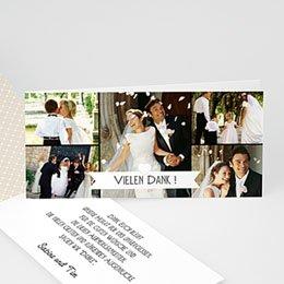 Danksagungskarten Hochzeit  Graphic Chic
