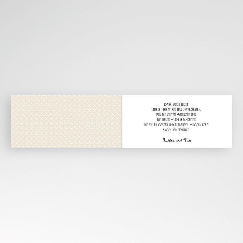 Danksagungskarten Hochzeit  Graphic Chic pas cher
