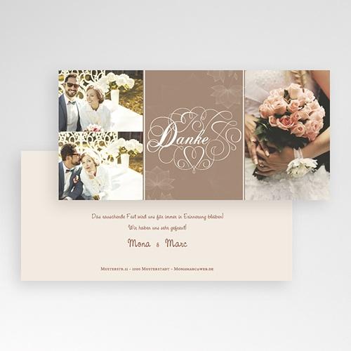 Danksagungskarten Hochzeit  Berlin pas cher