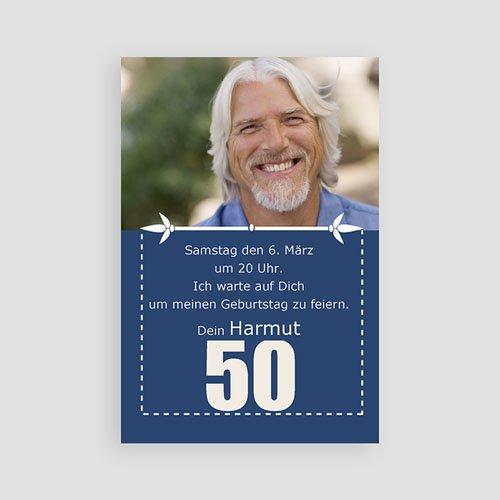 Erwachsener Einladungskarten Geburtstag 50 Jahre