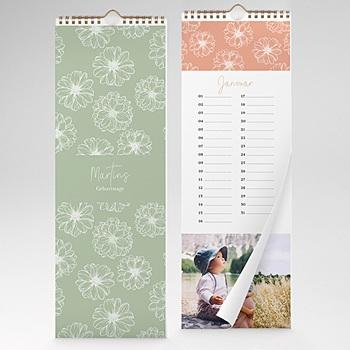 Ewiger Kalender - Blumen - 1