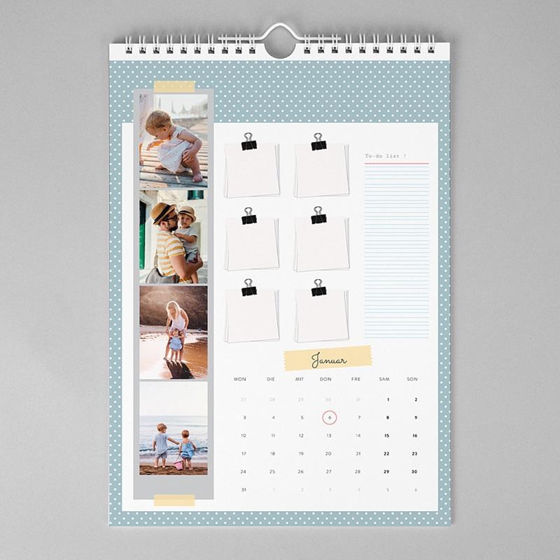 Wandkalender Punktedesign