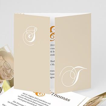 Einladungskarten Hochzeit  - Sommerwiese - 1