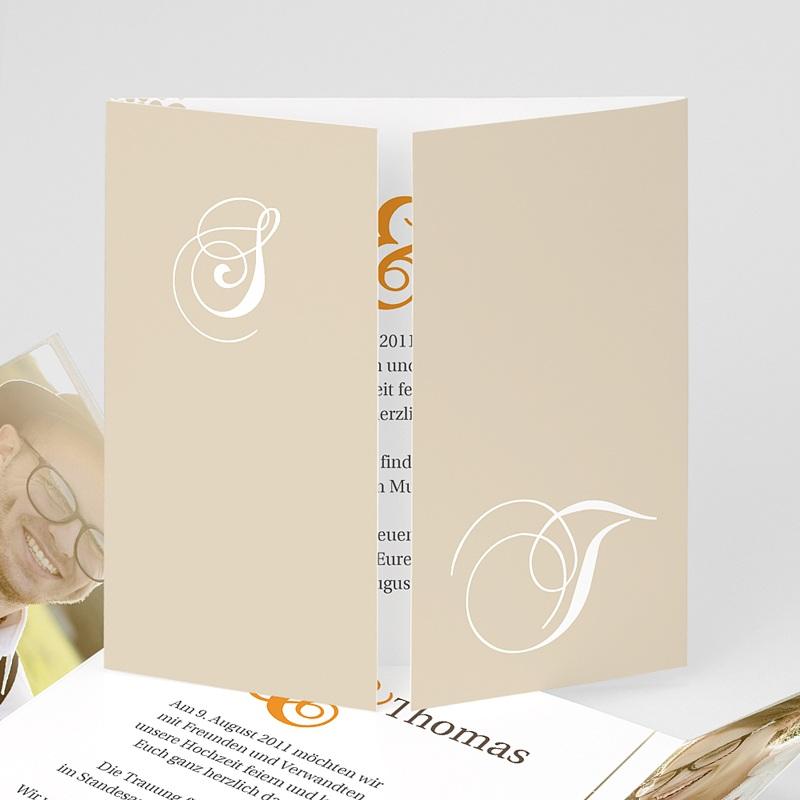 Einladungskarten Hochzeit  - Sommerwiese 2320 thumb