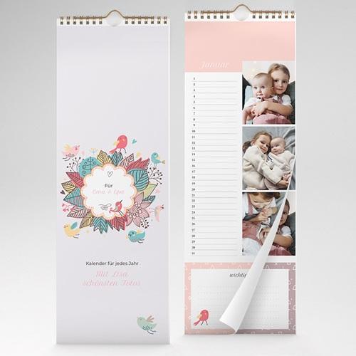 Ewiger Kalender Rosa