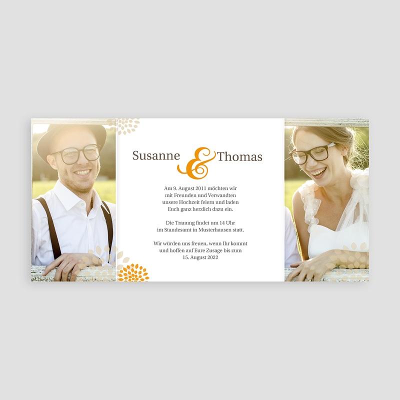 Einladungskarten Hochzeit  - Sommerwiese 2321 thumb