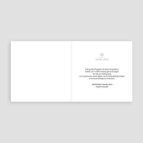 Geschäftliche Weihnachtskarten Santaclaus pas cher