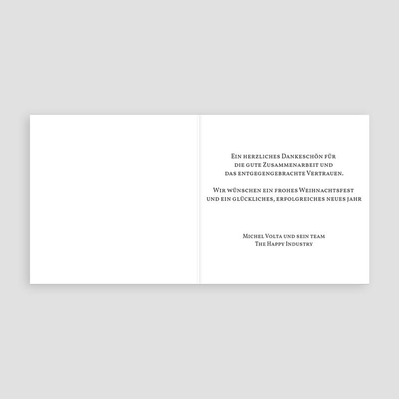 Geschäftliche Weihnachtskarten Ein leuchtendes Jahr pas cher
