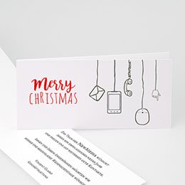 Weihnachtskarten - Netzwerk - 1
