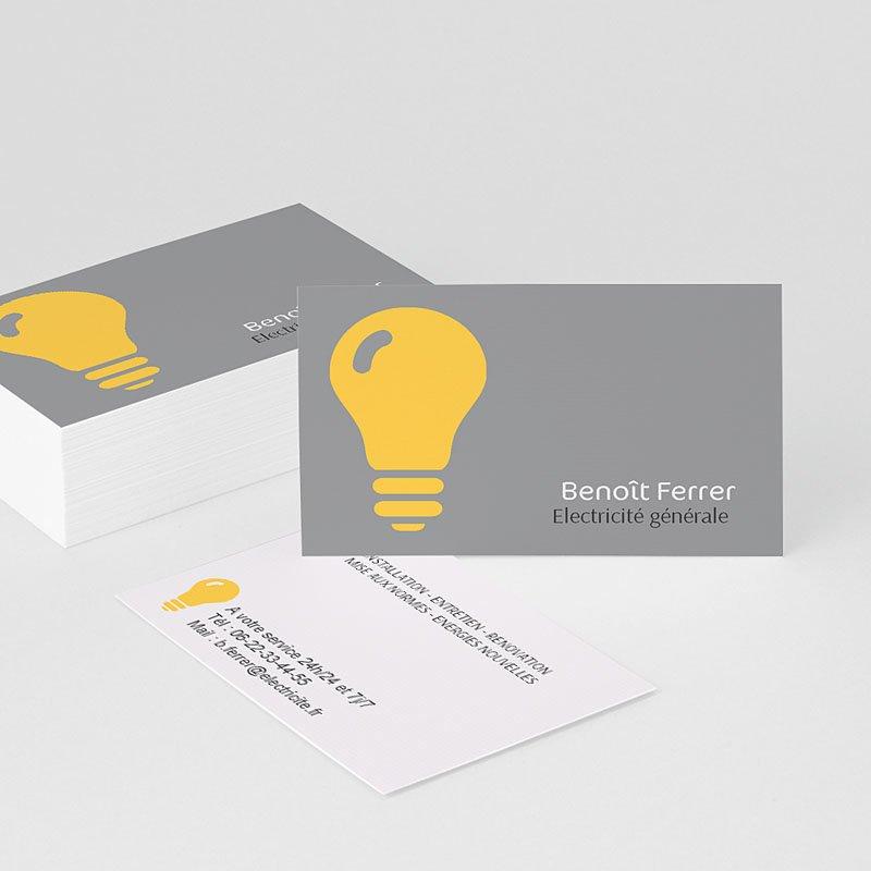 Visitenkarten Elektrizität