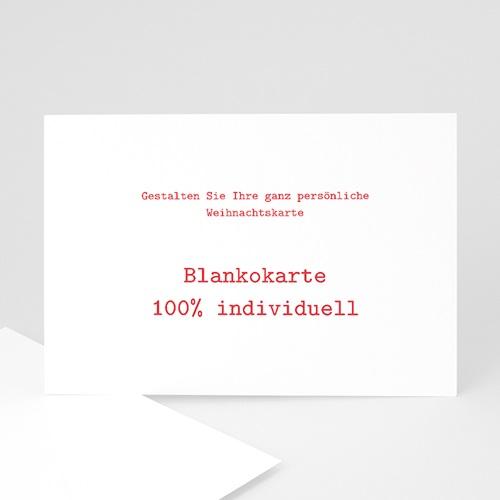 Weihnachtskarten - Blankokarte  23279