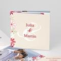 Hochzeitskarten Blumen - 1