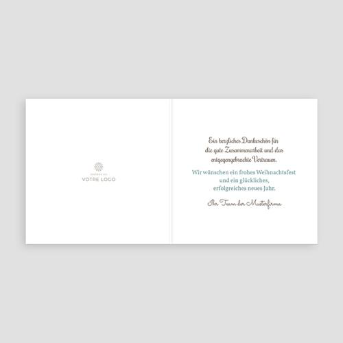 Geschäftliche Weihnachtskarten Greetings pas cher