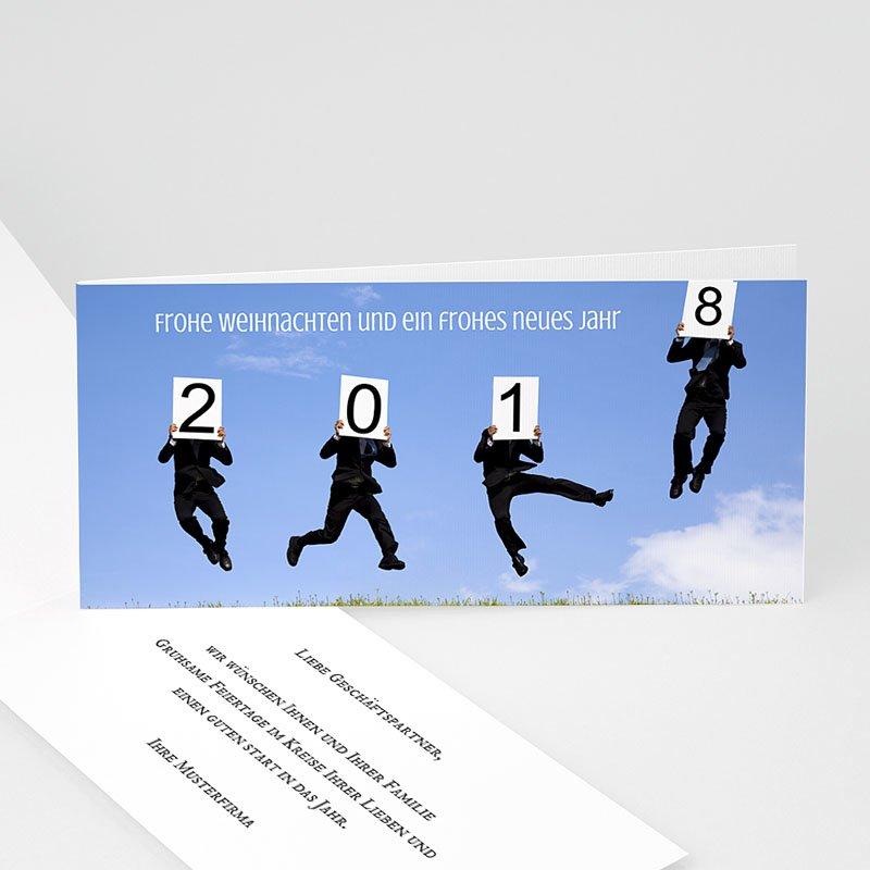 Geschäftliche Weihnachtskarten Lebkuchen