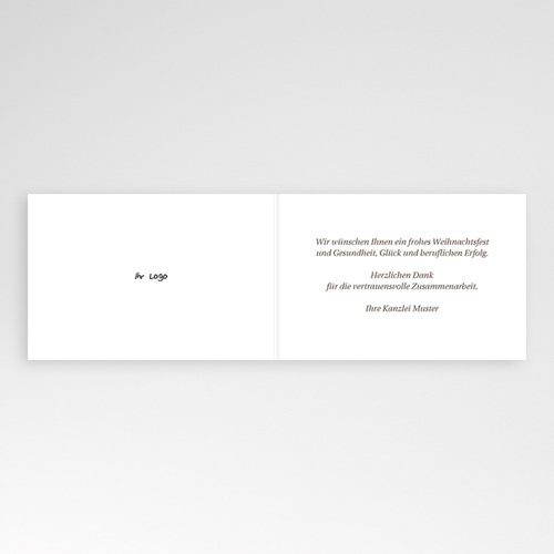 Weihnachtskarten - Zukunft 23449 preview