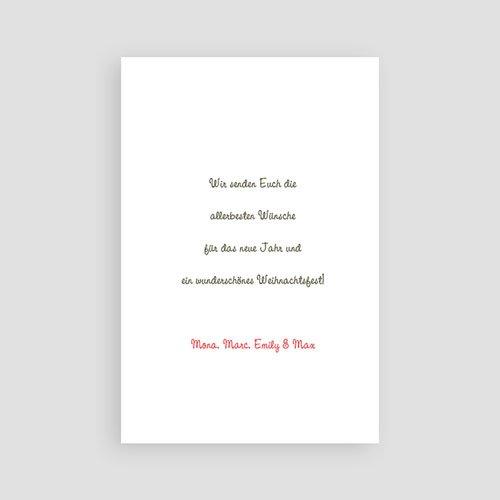 Weihnachtskarten - Braun 23485 preview