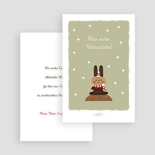 Weihnachtskarten - Braun 23486 preview
