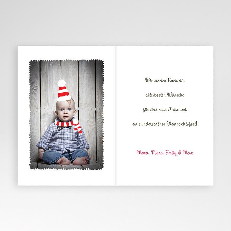 Weihnachtskarten Weihnachtshase pas cher