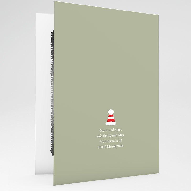 Weihnachtskarten - Weihnachtshase 23495 thumb