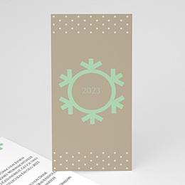Voeux Pro Weihnachten Schneeflocke