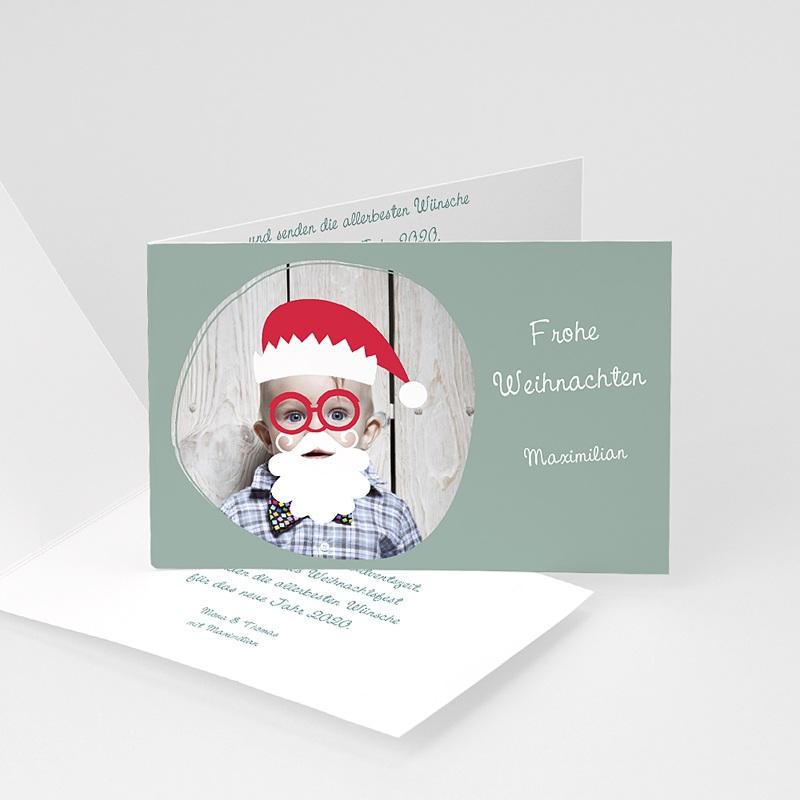 Weihnachtskarten Verkleidung