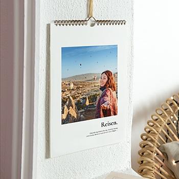 Wandkalender 2020 - Reisende - 1