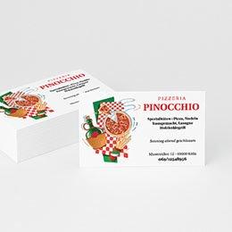 Visitenkarten Professionnel Pizzeria