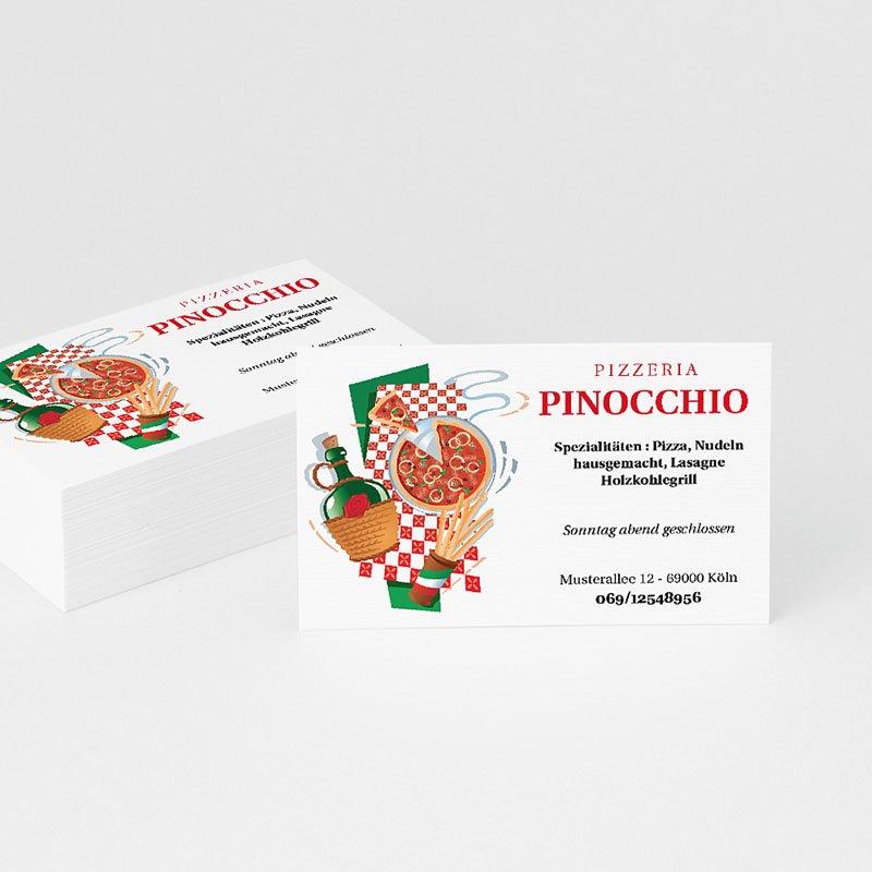 Visitenkarten Pizzeria