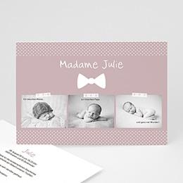 Karten Geburt Madame Baby
