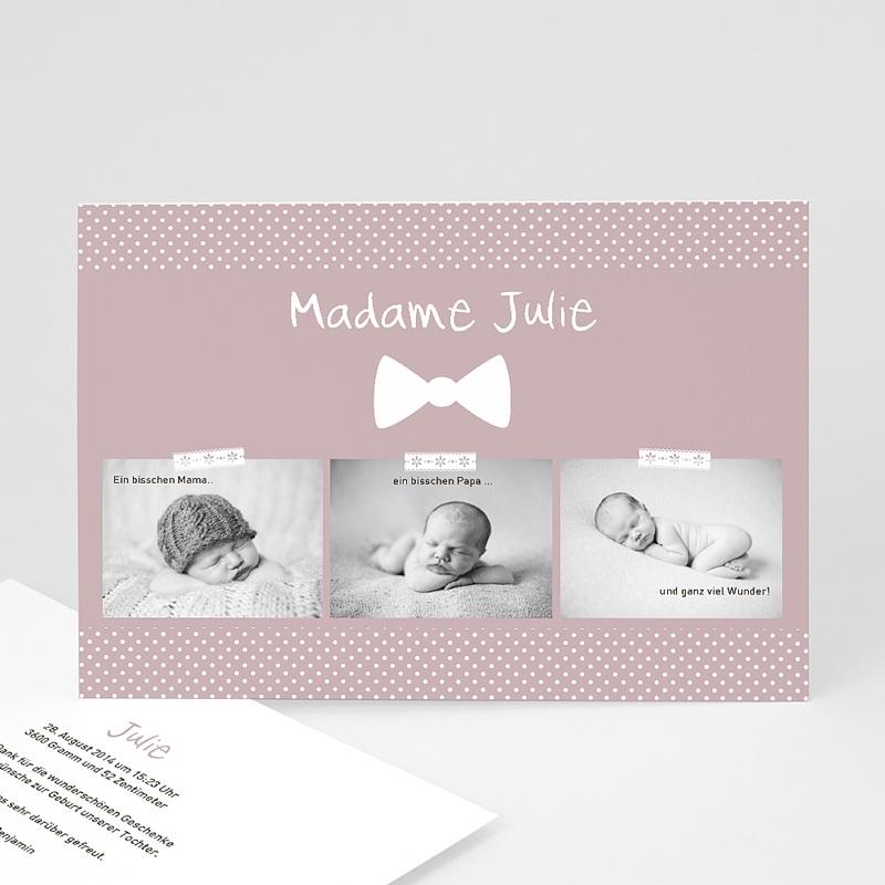 Vintage madame baby for Vintage geburtskarten