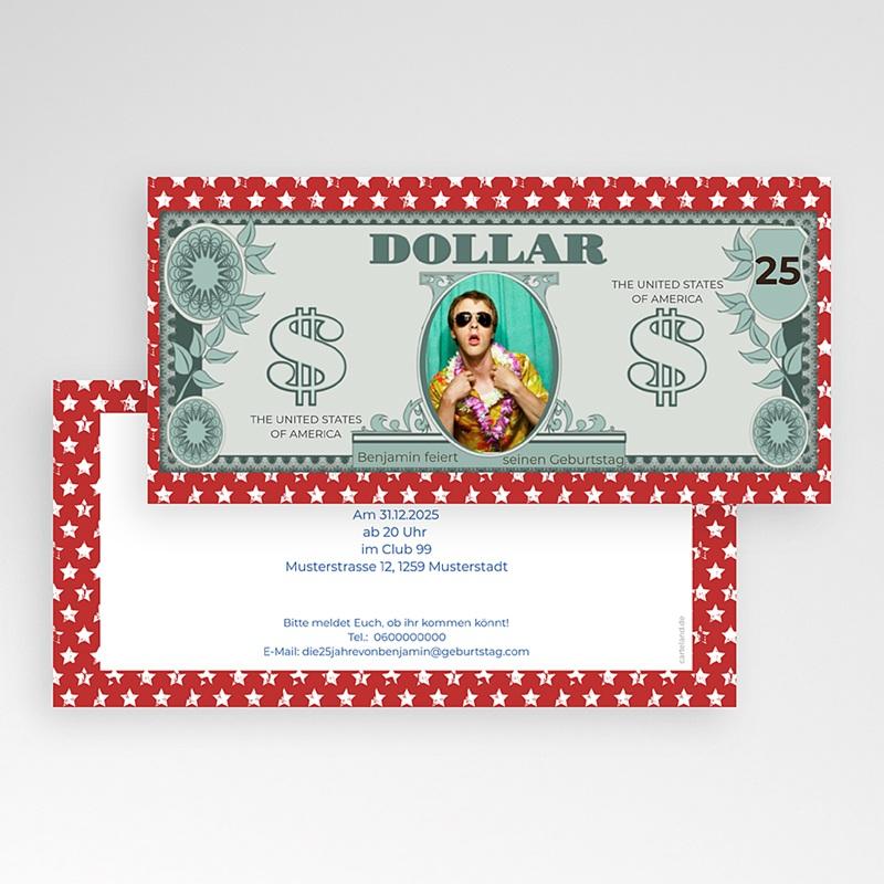 Runde Geburtstage Dollar pas cher