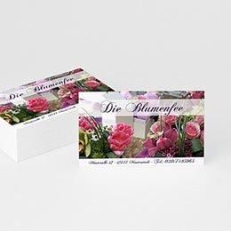 Visitenkarten Professionnel Florist