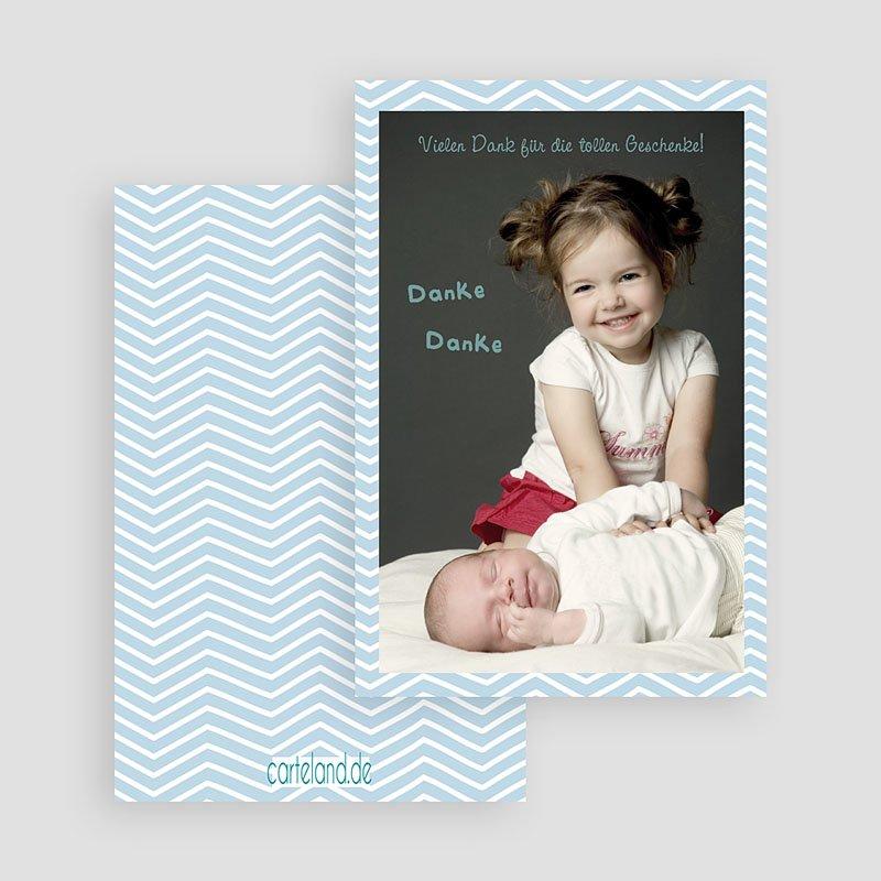 Dankeskarten Geburt für Mädchen Grosse Schwester gratuit
