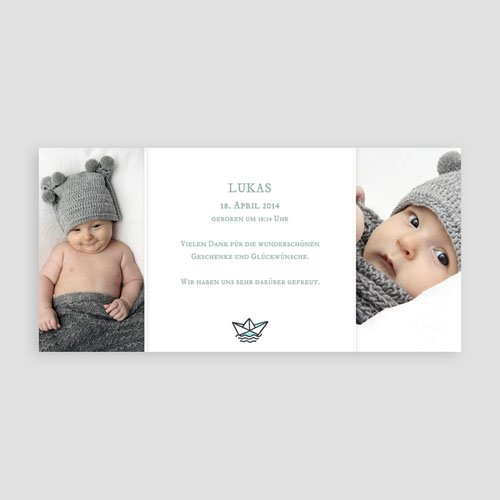 Geburtskarten für Jungen Unser Schatz pas cher