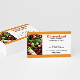 Visitenkarten - Visitenkarten Obsthandel - 1