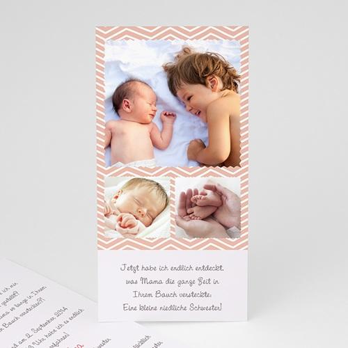 Geburtskarten selbst gestalten  - Grosser Bruder