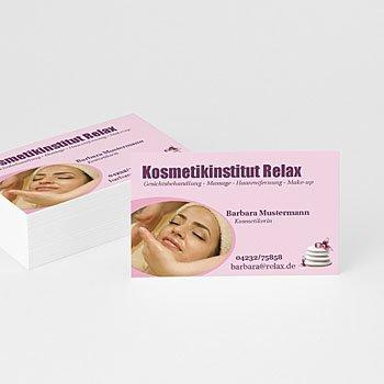 Visitenkarten - Kosmetikerin - 1