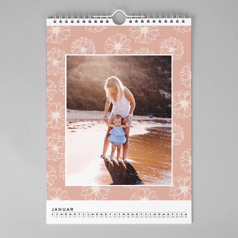 Wandkalender Romantischer Charme