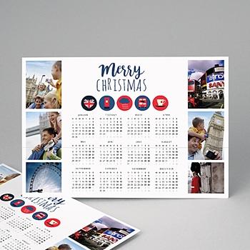 Kalender Jahresplaner - Calendrier Anglais - 1