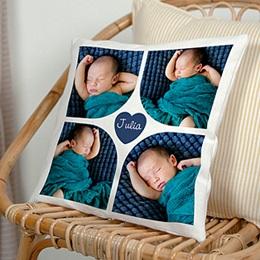 Coussin Geburt Multi Foto