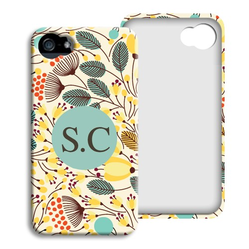 iPhone Cover NEU - Floral 23797 test