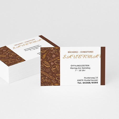 Visitenkarten Bäckerei