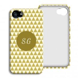 iPhone Cover NEU - Lindgrünes Muster - 1