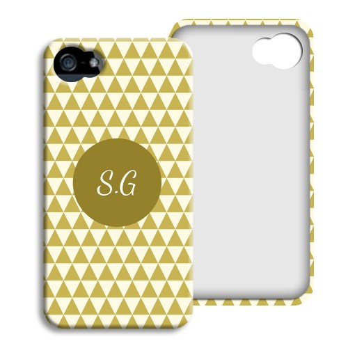 iPhone Cover NEU - Lindgrünes Muster 23812
