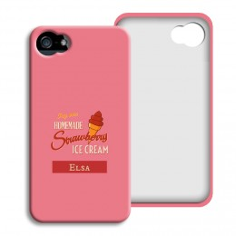 iPhone Cover NEU - Homemade Strawberry Ice Cream - 1