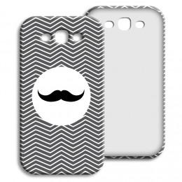 Case Samsung Galaxy S3 - Monsieur schwarz-weiss - 1