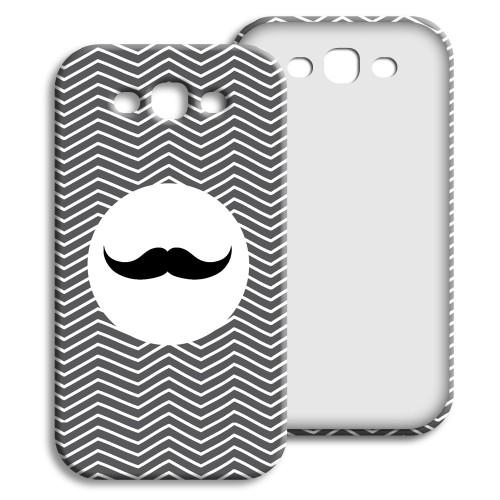 Case Samsung Galaxy S3 - Monsieur schwarz-weiss 23854